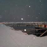 Og snøen daler ned.