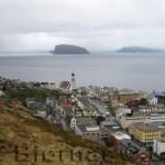 Hammerfest by med karakteristiske Håja.
