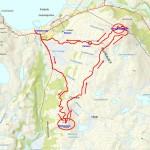 Antall km. er en plass mellom 10,5 og 11 km