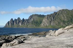 Utsikt fra Tungeneset