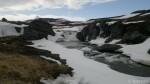 Måtte bare ta bilde av fossen og det er ikke så mye is der i år.