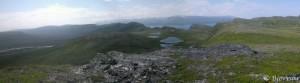 Panorama fra en ikke kjent topp.