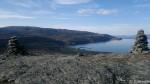 Vardene på Russefjellet, bare en bakke ned så e æ hjemme.