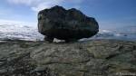 En litt spesielt plassert stein