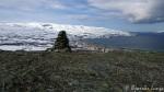Varden på Russefjellet, målet for mange som vil skrive sæ inn i trimboka.