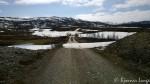 Rottelva og brua, enda litt snø igjen
