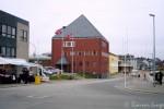 Det karakteristiske rådhuset i Vardø