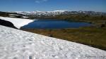 Et lite vann på turen og mye snø enda
