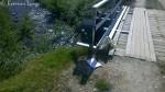 Liten stopp ved Rottelvbrua for å signere i trimboka
