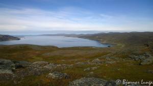 Oversiktsbilde over Selkop og Birjastrand