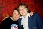 Geggen og Kjetil Linnes poserer