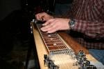 Harry Johansen på pedal steel gitar