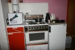 Komfyr og kjøleskap