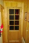 Den nye døra inn til stua