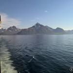 Farvel til ytterste del av Lofoten, vi stevner mot Melbu, Vesterålen
