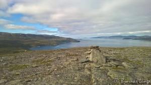 Varden på toppen av Russefjellet