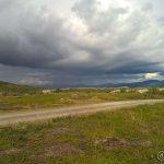 Ser at det regner i Lillefjord og det kommer vel hit
