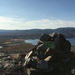 Varden oppe på Rinstadfjellet