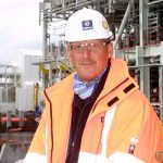 En stolt informasjonssjef i Statoil, Sverre Kojedal