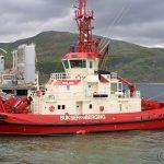 Denne taubåten er en av flere som skal være stasjonert på Melkøya