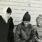Marta og Gunnar Holmgren og æ
