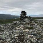 Varden min på min annekterte fjelltopp