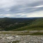 Utsikt oppover Russelvdalen