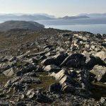 Et lite stykke igjen og det er veldig vanskelig terreng på Mollafjellet