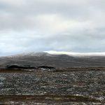 Snøen forsvant her nede, men på fjellet er den enda