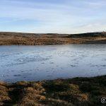 Litt vind har det vært når isen la sæ