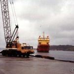 Troms Skarven ankommer Austervoll