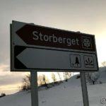 Gikk bare rundt en time opp til Storberget