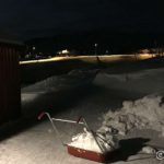 Litt snørydding før æ tar kveld