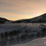 Utsikt mot Samuelstoppen og Russelvdalen