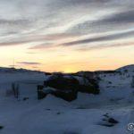 Kokelvfossen og en nydelig sørhimmel