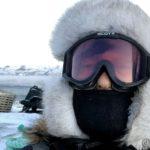 Kaldt og vindfullt tilsier ansiktsmaske og fokkbrilla