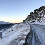 Snart ved Kråkeberget, men ingen sol som skinner på berget