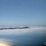 """Dårlig bilde, men en kan såvidt se litt av månen etter at den var helt """"borte"""" i jordens skygge"""