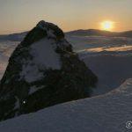 Steinen ved Russefjelltoppen