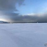 Kraftige byger ute ved Lillefjord