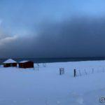Det slutta å snø da æ kom i bygda, men bygene gikk ute på Revsbotn
