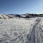 Fulgte skuterløypa fra Kokelva mot Juksavann