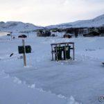 Rødda bort litt snø, så det skulle bli lettere for landpostudet i morra og renovasjonsbilen onsdag