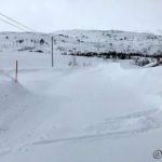 Etter en kort stopp hjemme gikk æ ut og mot Masterelv, endel snø på veien dog