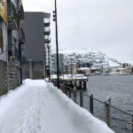 Strandpromenaden i Hammerfest