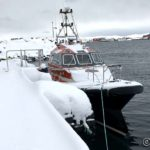 Hammerfest sin (forholdsvis) nye havnebåt