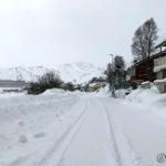 Siden er så mye snø utenom veiene nå orka æ ikke å prøve Belsen i dag heller
