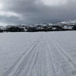 Kokelvdalmyra, nå dekket ned snø og is