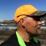 På tur opp til Storberget og måtte ha brille oppå capsen, da brillearmene gnog oppå ørene