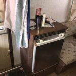 Kjøleskap, både på gass og strøm
